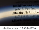 Small photo of libido word in a dictionary. libido concept.