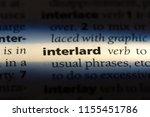 Small photo of interlard word in a dictionary. interlard concept.
