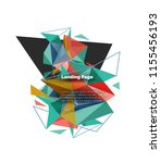 triangular design abstract...