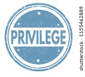 privilege sign or stamp on... | Shutterstock .eps vector #1155462889