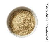 wheat groats in bowl. preparing ...   Shutterstock . vector #1155466459