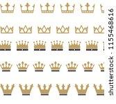 king crown logo   Shutterstock .eps vector #1155468616