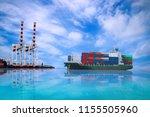 logistics import export...   Shutterstock . vector #1155505960