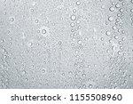 water drops or rain droplets on ... | Shutterstock . vector #1155508960