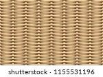seamless 3d weave rattan... | Shutterstock .eps vector #1155531196