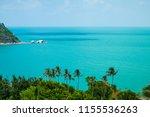 Tropical Beach Blue Sky Background - Fine Art prints