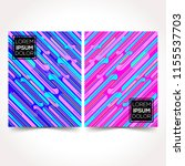 modern design template...   Shutterstock .eps vector #1155537703