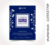 modern design template... | Shutterstock .eps vector #1155537709