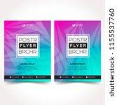 modern design template...   Shutterstock .eps vector #1155537760