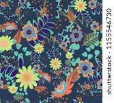 bandanna shawl  tablecloth... | Shutterstock . vector #1155546730