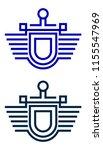 education batch logo design... | Shutterstock .eps vector #1155547969