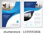 template vector design for... | Shutterstock .eps vector #1155551836