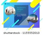 template vector design for... | Shutterstock .eps vector #1155552013