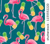 beautiful seamless pattern of... | Shutterstock .eps vector #1155552220
