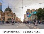 melbourne  australia   feb 17 ...   Shutterstock . vector #1155577153