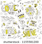 pattern with slogans for tee...