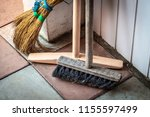 tools for cleaning are in the...   Shutterstock . vector #1155597499