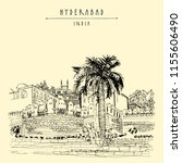 hyderabad  telangana state ...   Shutterstock .eps vector #1155606490