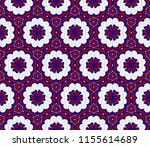 geometric pattern in lace style.... | Shutterstock .eps vector #1155614689