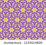 seamless vector pattern. floral ... | Shutterstock .eps vector #1155614830
