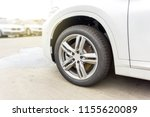 car brake discs are rusty after ... | Shutterstock . vector #1155620089