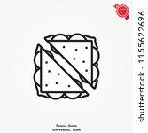 sandwich icon  vector...   Shutterstock .eps vector #1155622696