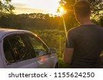 summer sunset in russia | Shutterstock . vector #1155624250