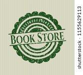 green book store rubber grunge... | Shutterstock .eps vector #1155629113