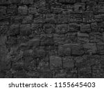 dark black wall texture... | Shutterstock . vector #1155645403