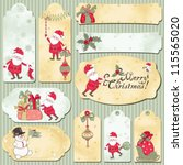 Set Of Holidays Vector Cards...