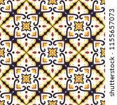 portuguese tile pattern...   Shutterstock .eps vector #1155657073