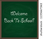 back to school. illustration of ... | Shutterstock . vector #1155667363