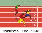 running men profile picture....   Shutterstock .eps vector #1155673330