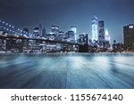 concrete rooftop with beautiful ...   Shutterstock . vector #1155674140