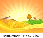 vector cartoon drawing of a... | Shutterstock .eps vector #1155679459