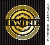 twine gold emblem | Shutterstock .eps vector #1155691036