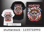t shirt print design.japanese...   Shutterstock .eps vector #1155733993