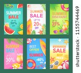 best offer summer proposition... | Shutterstock .eps vector #1155744469