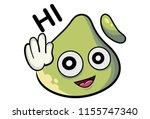 vector cartoon illustration of... | Shutterstock .eps vector #1155747340