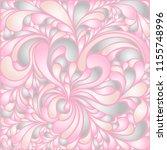 silk texture fluid shapes ... | Shutterstock .eps vector #1155748996