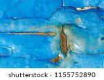 peeling paint texture as... | Shutterstock . vector #1155752890