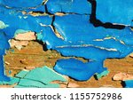 peeling paint texture as... | Shutterstock . vector #1155752986