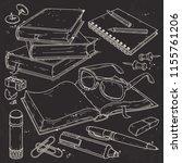vector illustration  set... | Shutterstock .eps vector #1155761206