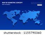 vector modern isometric concept ...   Shutterstock .eps vector #1155790360
