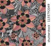 seamless vector pattern in a... | Shutterstock .eps vector #1155792049