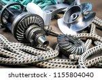 boat propeller speed boat made... | Shutterstock . vector #1155804040