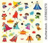 vector illustrations in flat... | Shutterstock .eps vector #1155832573