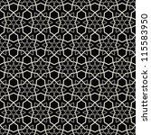 ethnic modern geometric... | Shutterstock .eps vector #115583950