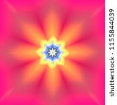 colorful mandalas for design....   Shutterstock . vector #1155844039