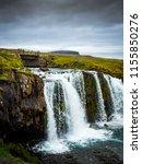 kirkjufell mountain and... | Shutterstock . vector #1155850276